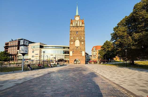 Medieval City Gate Rostock-Medieval City Gate Rostock