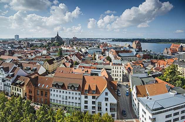 Rostock Germany City Skyline-Rostock Germany City Skyline