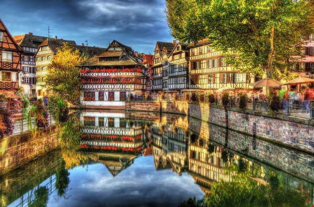 Historic District Petite France Of Strasbourg-Historic District Petite France Of Strasbourg