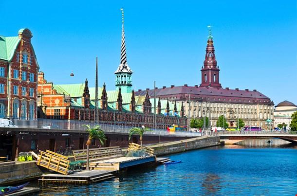 Copenhagen Overview at Sea
