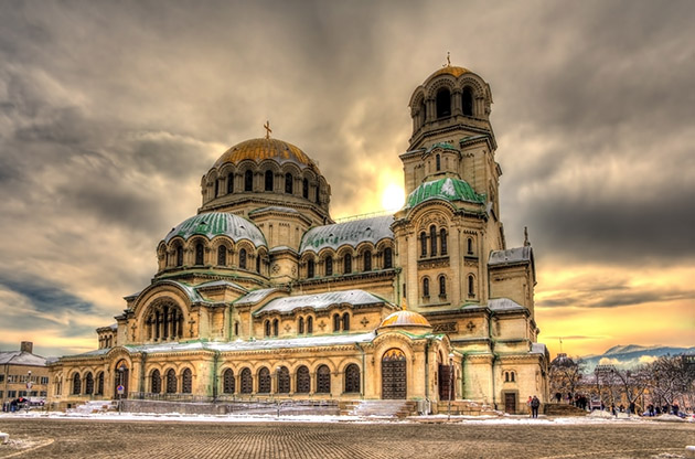 Alexander Nevsky Cathedral In Sofia Bulgaria-Alexander Nevsky Cathedral In Sofia Bulgaria