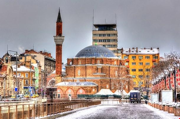 Banya Bashi Mosque In Sofia Bulgaria