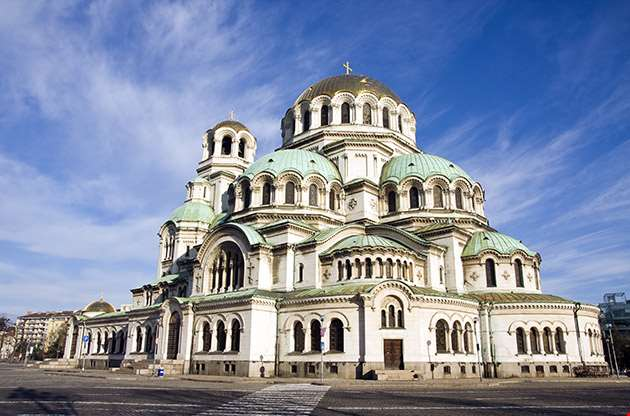 The Alexander Nevsky Cathedral In Sofia Bulgaria-The Alexander Nevsky Cathedral In Sofia Bulgaria