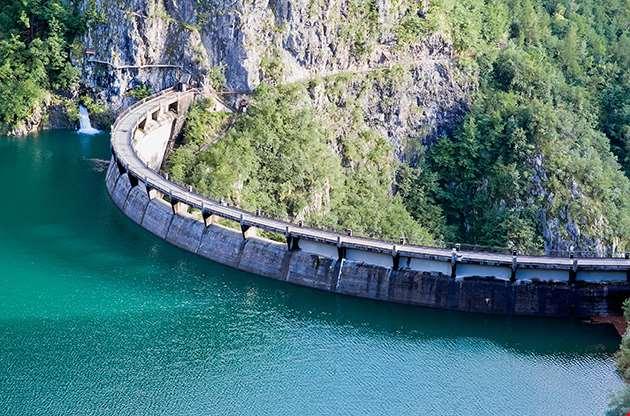Speccheri Dam Alps Province Of Trentino Alto Adiges Bolzano Italy-Speccheri Dam Alps Province Of Trentino Alto Adiges Bolzano Italy