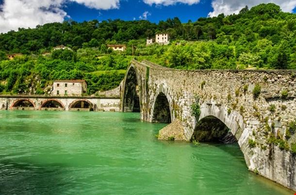 Devils Bridge Lucca Italy