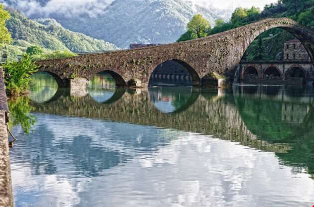 Ponte Del Diavolo Devils Bridge-Ponte Del Diavolo Devils Bridge