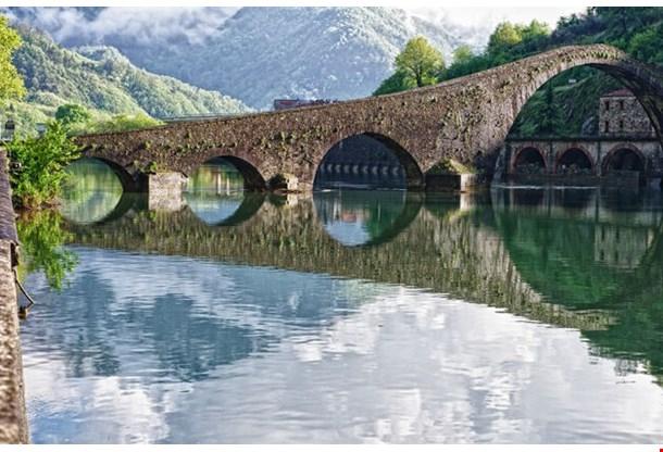 Ponte Del Diavolo Devils Bridge