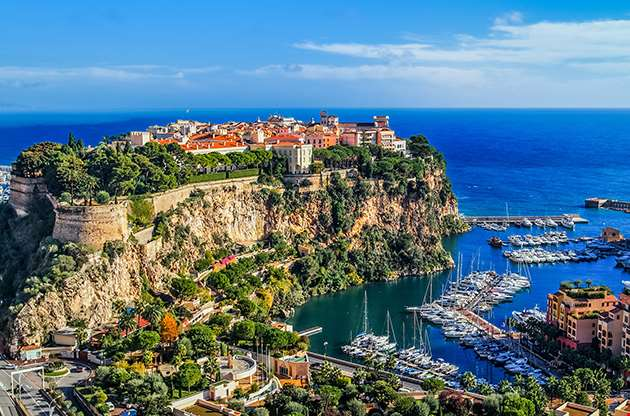 Monaco And Monte Carlo In The South Of France-Monaco And Monte Carlo In The South Of France