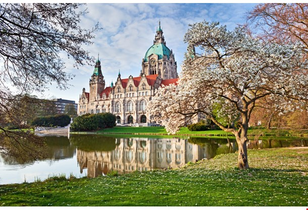 Neus Rathaus Hannover the New Town City Hall