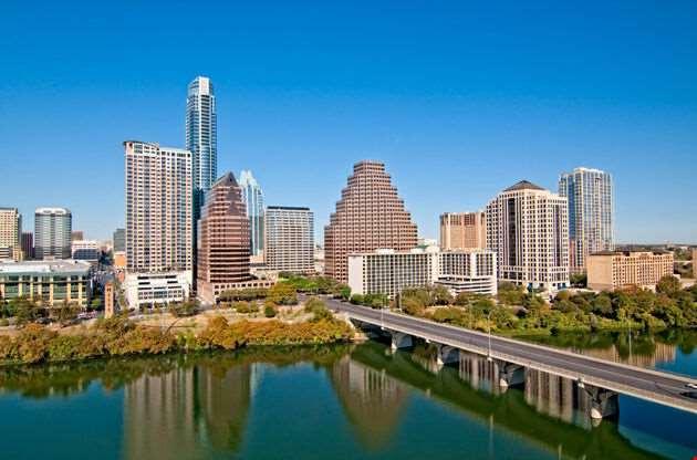 Austin Texas Downtown Skyline-Austin Texas Downtown Skyline