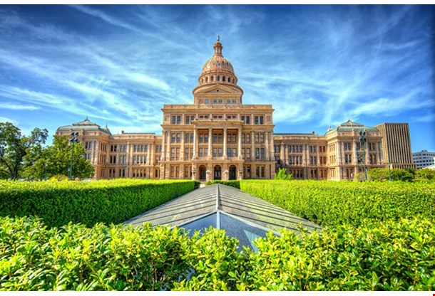 Texas State Capitol Building In Austin Tx