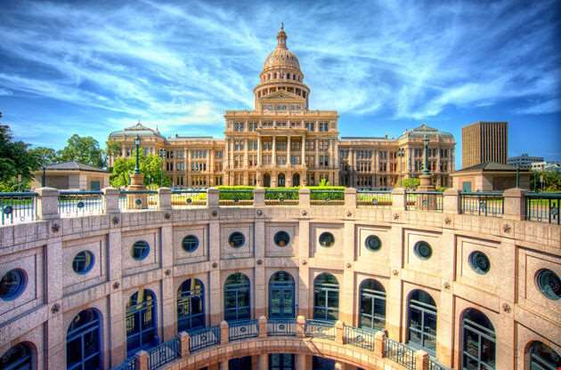 Texas State Capitol Building In Austin-Texas State Capitol Building In Austin