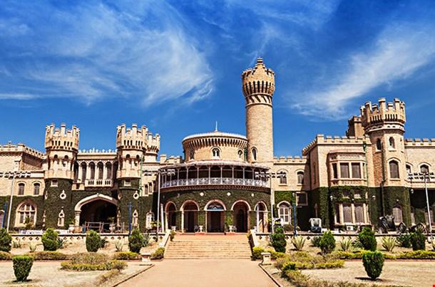 Garden And Bangalore King Palace Karnataka India