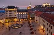 Bratislava Castle St Martin Cathedral Bratislava Slovakia-Bratislava Castle St Martin Cathedral Bratislava Slovakia