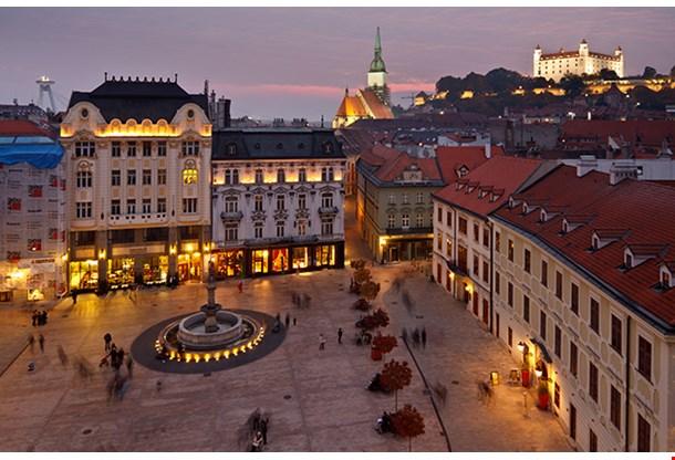 Bratislava Castle St Martin Cathedral Bratislava Slovakia