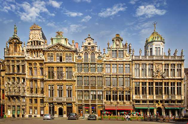 the-main-square-of-brussels-The Main Square of Brussels