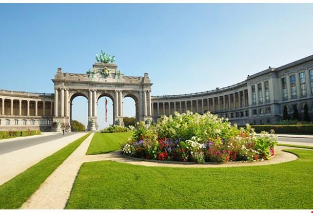 The Triumphal Arch in Cinquntenaire Parc