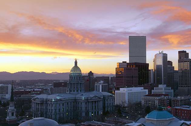 Skyline Denver Colorado-Skyline Denver Colorado