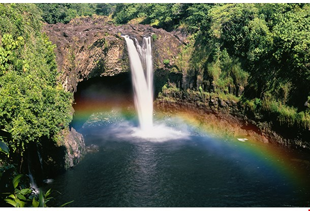 Rainbow Falls Hawaii