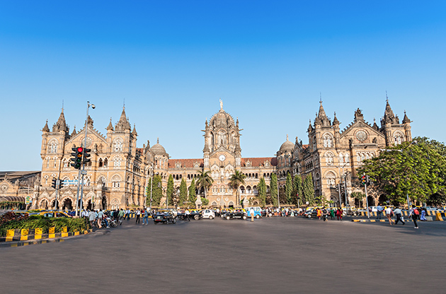 Chhatrapati Shivaji Terminus Is A Unesco World Heritage Site And An Historic Railway Station In Mumbai-Chhatrapati Shivaji Terminus Is A Unesco World Heritage Site And An Historic Railway Station In Mumbai