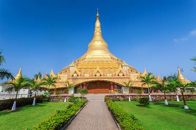 The Global Vipassana Pagoda Is A Meditation Hall In Mumbai India-The Global Vipassana Pagoda Is A Meditation Hall In Mumbai India