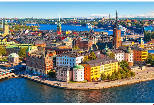 Old Town Gamla Stan In Stockholm