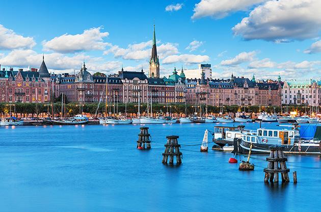 old-town-in-stockholm-sweden-Old Town In Stockholm Sweden