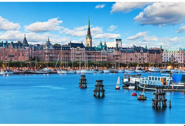 Old Town In Stockholm Sweden