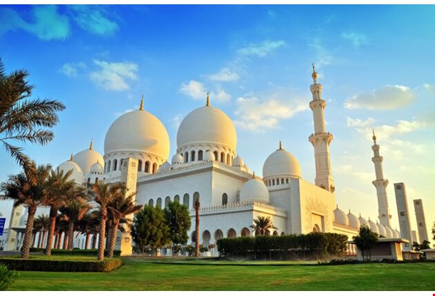 Sheikh Zayed Mosque Abu Dhabi Uae