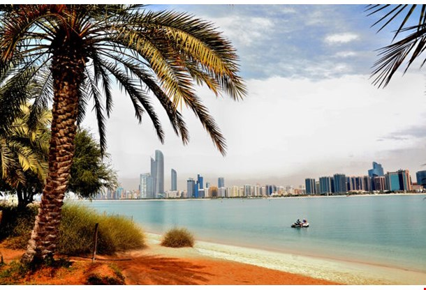 Skyscrapers In Abu Dhabi United Arab Emirates