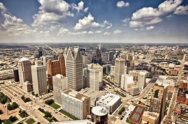 Downtown Detroit-Downtown Detroit