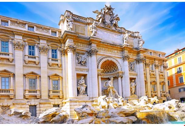 Fountain Di Trevi Rome