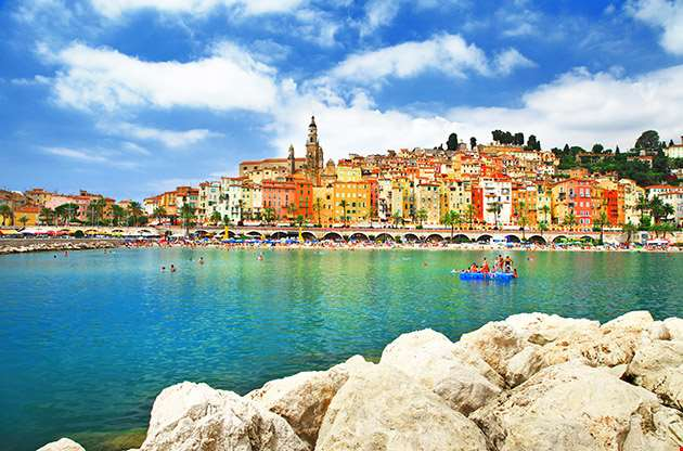 Menton Sunny Town In South Of France-Menton Sunny Town In South Of France