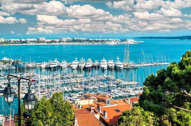 Port Le Vieux Of Cannes France-Port Le Vieux Of Cannes France
