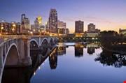 Minneapolis Image Of Minneapolis Downtown Skyline-Minneapolis Image Of Minneapolis Downtown Skyline