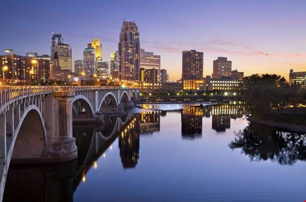 Minneapolis Image Of Minneapolis Downtown Skyline