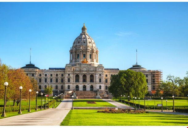Minnesota Capitol Building In St Paul
