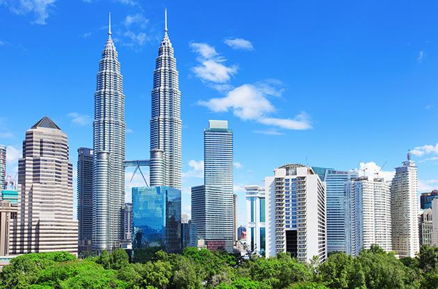 kuala-lumpur-skyline-malaysia-Kuala Lumpur Skyline Malaysia