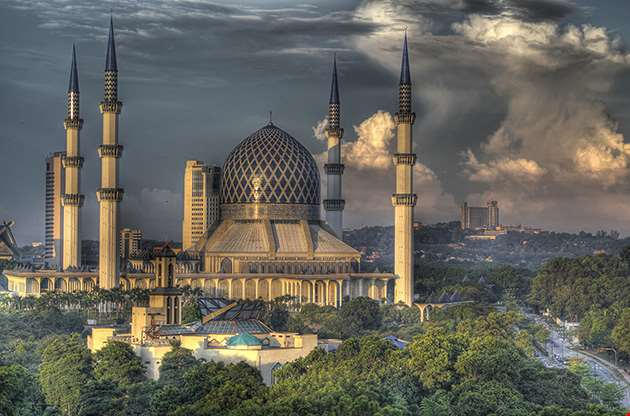 the-blue-mosque-shah-alam-kuala-lumpur-The Blue Mosque Shah Alam, Kuala Lumpur