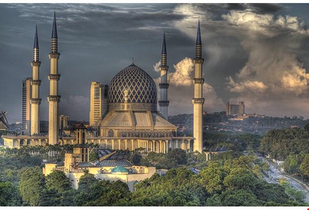 The Blue Mosque Shah Alam, Kuala Lumpur