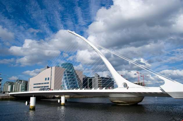 samuel-beckett-bridge-in-dublin-Samuel Beckett Bridge in Dublin