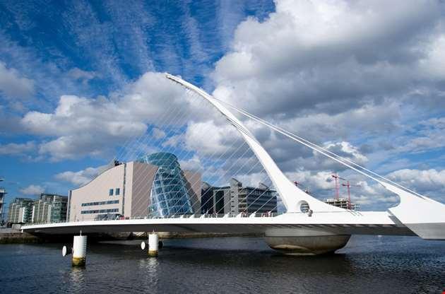 samuel-beckett-bridge-in-dublin-Samuel Beckett Bridge in Dublin