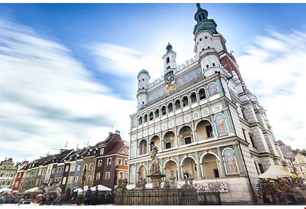 Historic Poznan City Hall