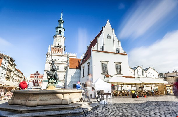 Historic Poznan City Poland