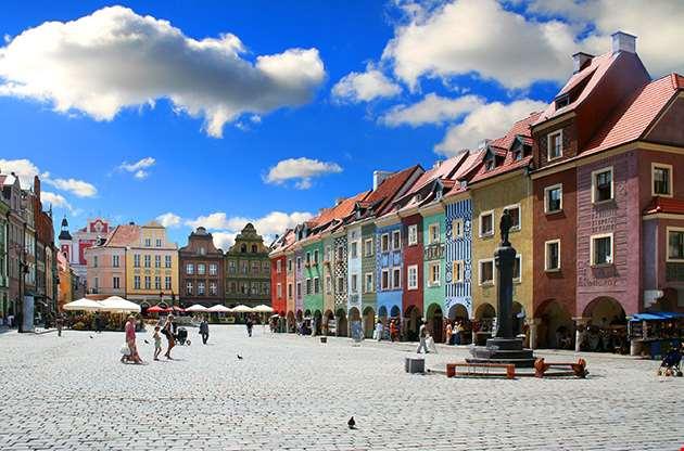 Old Market Poznan Poland-Old Market Poznan Poland