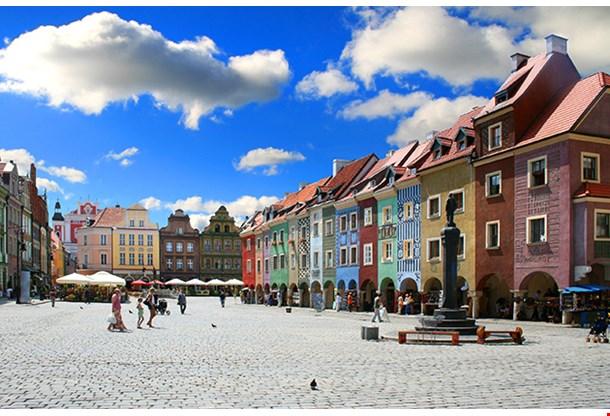 Old Market Poznan Poland