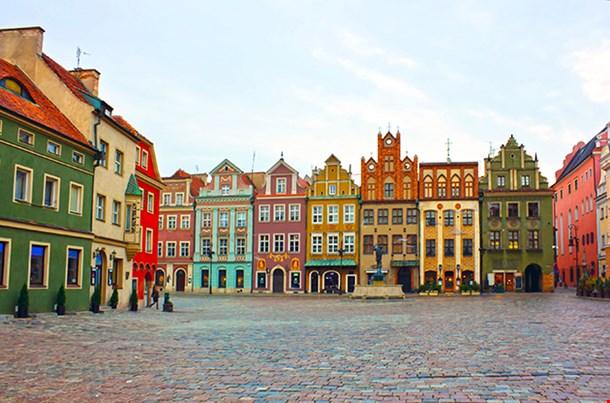 Old Market Square Of Poznan Poland