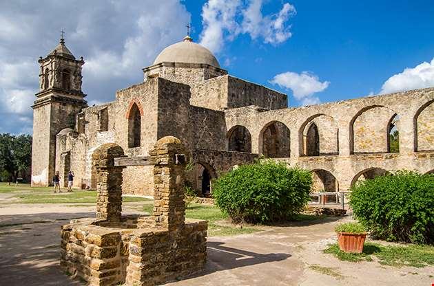 Mission San Jose Is A Historic Catholic Mission In San Antonio-Mission San Jose Is A Historic Catholic Mission In San Antonio