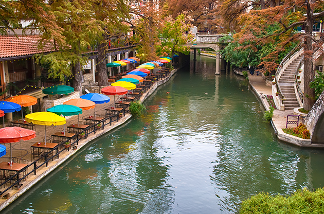 River Walk In San Antonio Texas-River Walk In San Antonio Texas