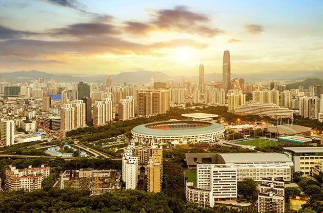 Scene Of Shenzhen Special Economic Zone China-Scene Of Shenzhen Special Economic Zone China